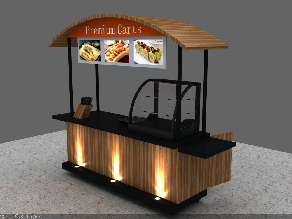 Food Cart | Mobile Coffee Cart | Crepe Cart Design |Ice Cream Cart